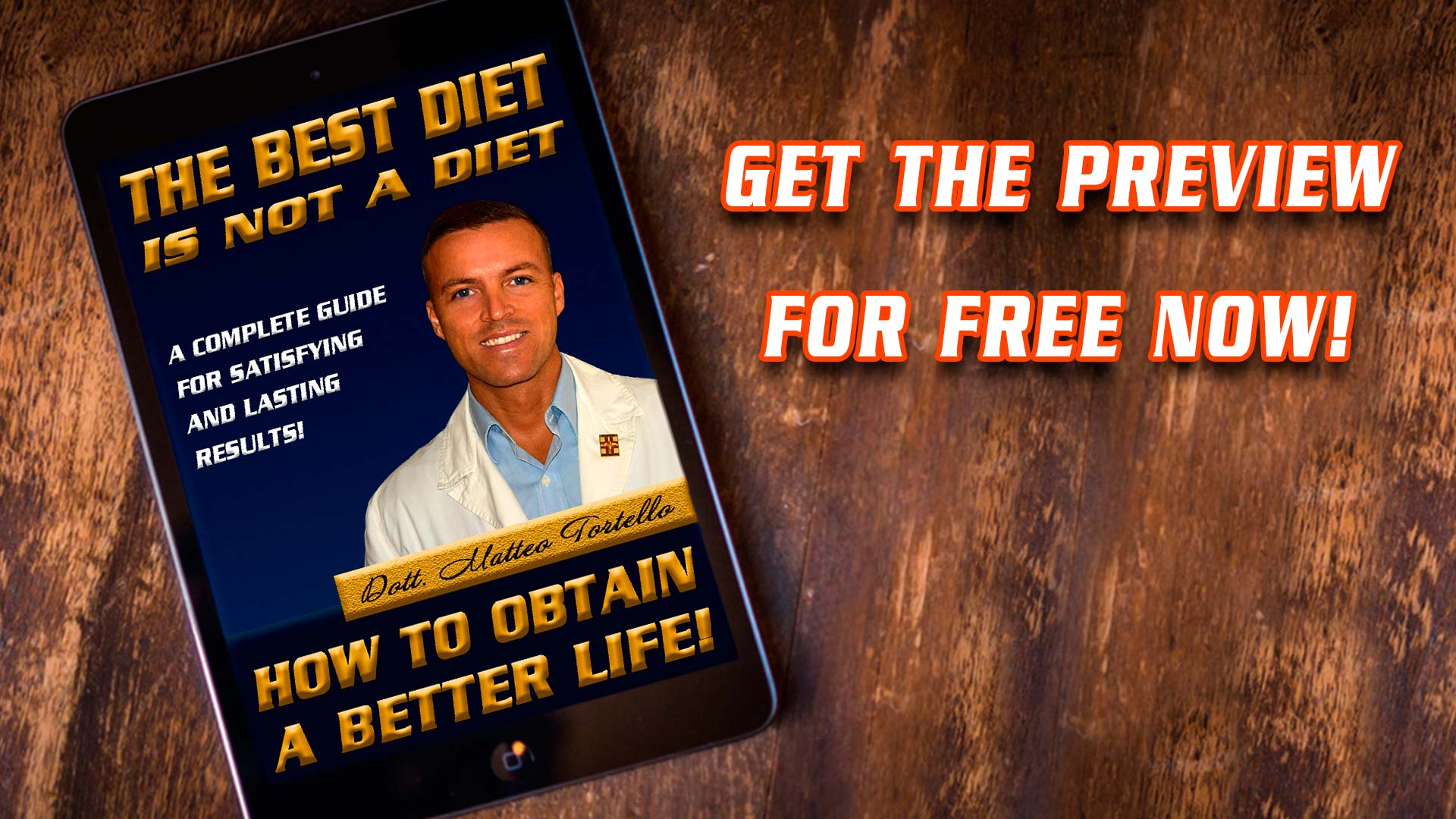 "Preview ""The best diet is not a diet"""
